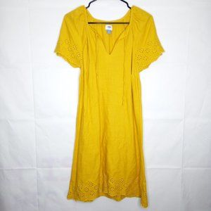 Old Navy Summer Dress Women Size S Mustard Yellow